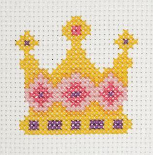 Anchor 1st Cross Stitch Kit Crown
