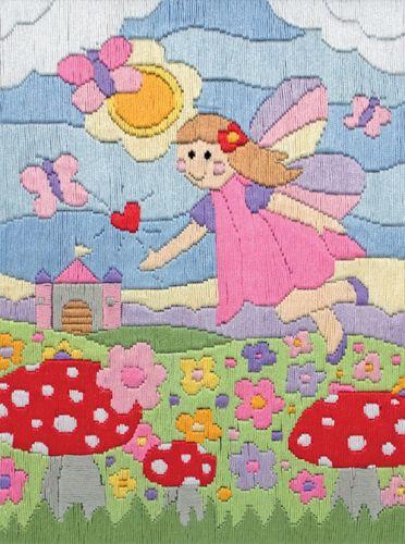 Anchor Long Stitch Kit Fairy Land