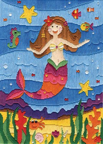 Anchor Long Stitch Kit Mermaid