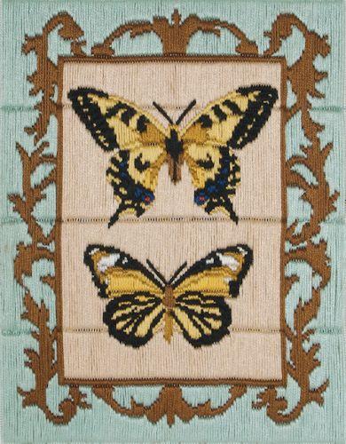 Anchor Long Stitch Kit Butterflies