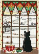 Anchor Long Stitch Kit Winter Through the window