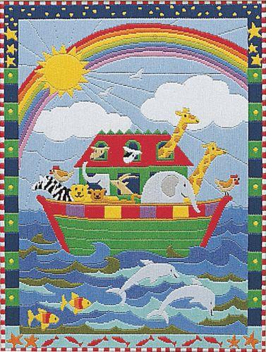 Anchor Long Stitch Kit Noahs Ark