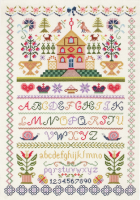 Anchor Traditional Sampler Cross Stitch Kit