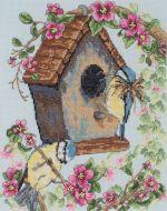 Anchor The Bird House Cross Stitch Kit