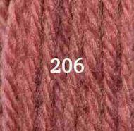 Appletons Crewel Wool 206 Flame Red