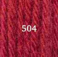 Appletons Crewel Wool 504 Scarlet