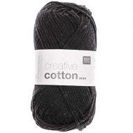 Cotton Aran 50g - Black 90
