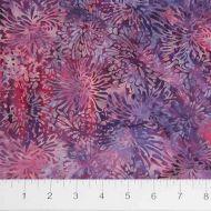 Banyan Shattered Garden Batiks Pink/ Purple