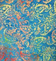 Island Batiks Multi /Turquoise