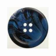Button H040-093254 Bone Effect Blue