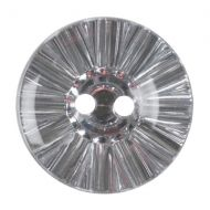 Button - Crystal - Clear - 12.5mm