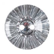 Button - Crystal - Clear - 17.5mm