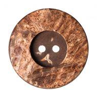 Button - Wooden - 28mm