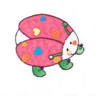 Embroidered Motif LADYBIRD