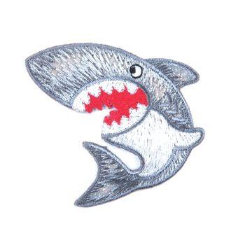 Embroidered Motif SHARK