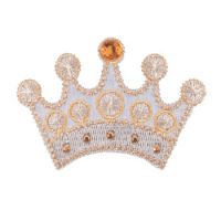 Embroidered Motif JEWEL CROWN