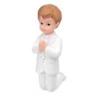 First Communion Boy Kneeling