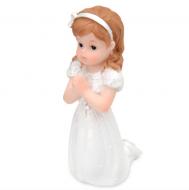First Communion Girl Kneeling