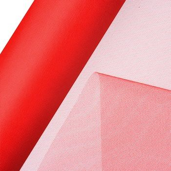 Tulle Net On Roll 30cm  Red