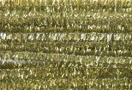 Glitter Chenilles 30cmx6mm Gold