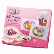 Silk Painting Card Kit by House of Crafts