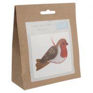 Felt Decoration Kit: Christmas - Robin