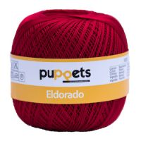 Puppets Eldorado No 10 Crochet Thread Cherry