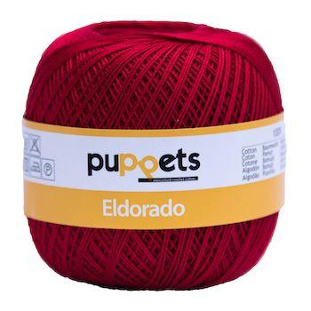 Puppets Eldorado No 10 Crochet Thread Cherry