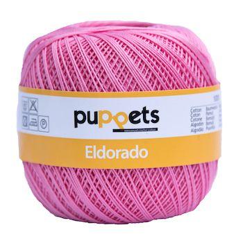 Puppets Eldorado No 10 Crochet Thread Pink