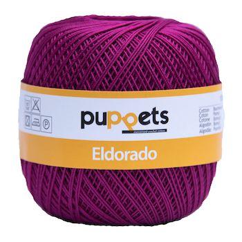 Puppets Eldorado No 10 Crochet Thread Fuschia