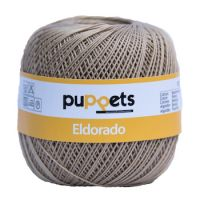 Puppets Eldorado No 10 Crochet Thread 100g: Buff