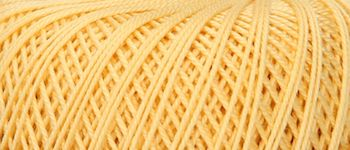 Puppets Eldorado No 10 Crochet Thread Pale Gold