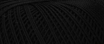 Puppets Eldorado No 10 Crochet Thread Black