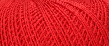 Puppets Eldorado No 10 Crochet Thread Red