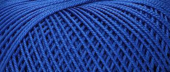 Puppets Eldorado No 10 Crochet Thread Royal Blue
