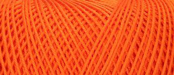 Puppets Eldorado No 10 Crochet Thread Orange