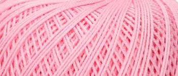 Puppets Eldorado No 10 Crochet Thread Mid Pink