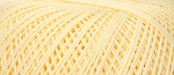 Puppets Eldorado No 10 Crochet Thread Pale Yellow