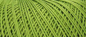 Puppets Eldorado No 10 Crochet Thread Green