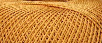 Puppets Eldorado No 10 Crochet Thread Dark Gold