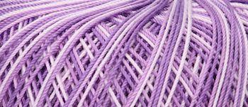 Puppets Eldorado No 10 Crochet Thread Variegated Lilac