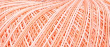 Puppets Eldorado No 10 Crochet Thread Variegated Pale Pink