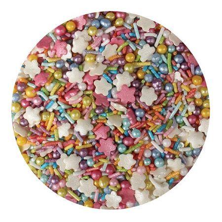 Purple Cupcake Rainbow Mix Sprinkles