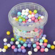 Purple Cupcake 7mm Rainbow Pearls