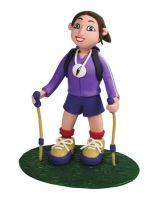 Claydough Lady Hiker