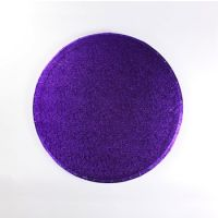 Purple 12 inch Round Cake Board