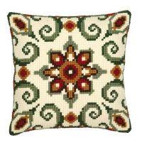 Cross Stitch Kit: Cushion: Geometric Design by Vervaco