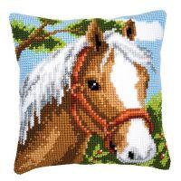 Cross Stitch Kit: Cushion: Pony by Vervaco