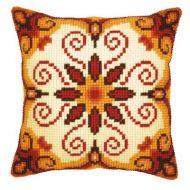 Cross Stitch Kit: Cushion: Harmony by Vervaco