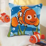 Cross Stitch Cushion Kit: Disney: Nemo by Vervaco